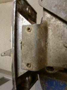 heater control rivets