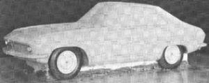 Clay model of CSP310 prototype